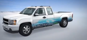 грузовой пикап X-truck на базе Chevrolet Silverado