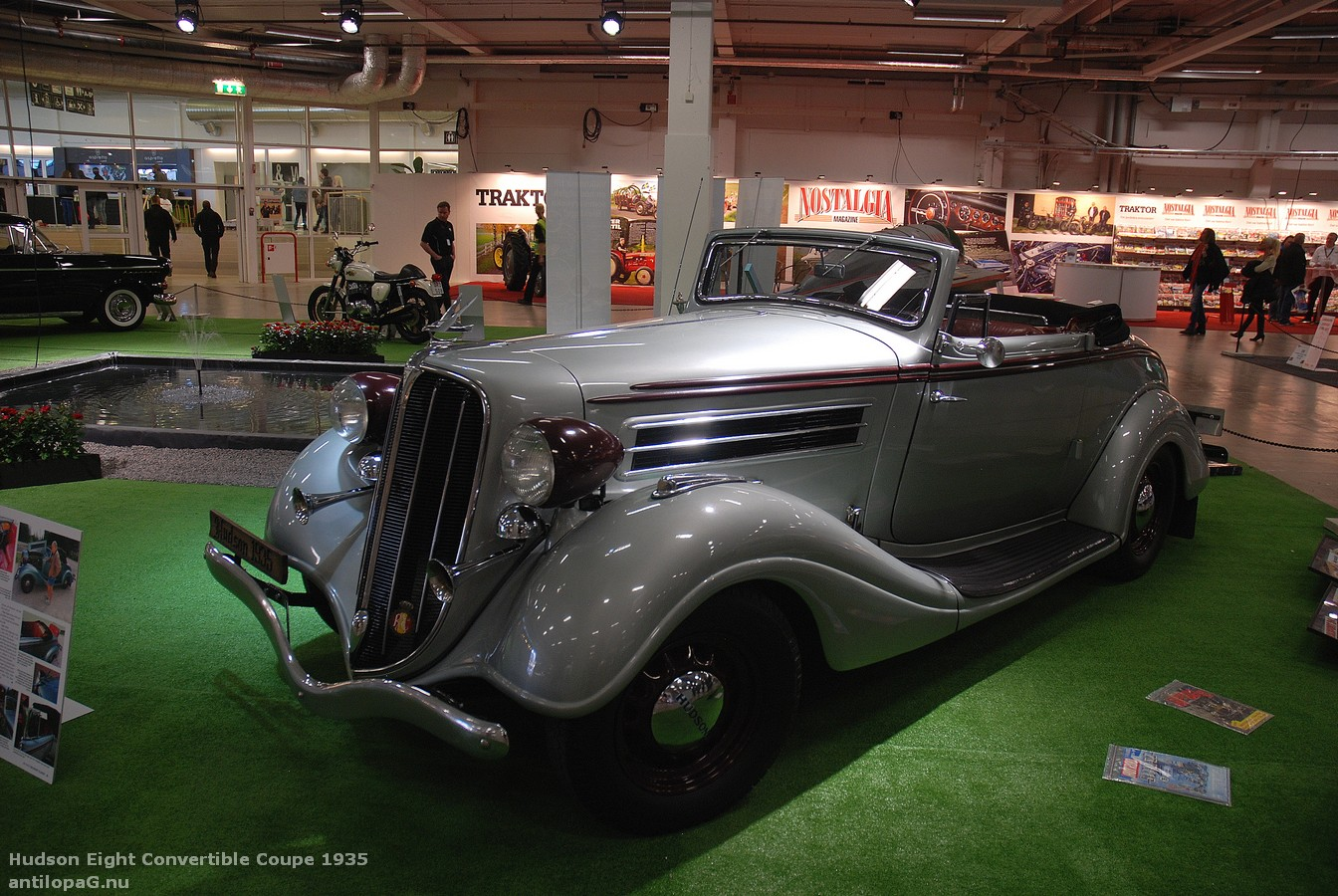Hudson Eight Convertible Coupé 1935