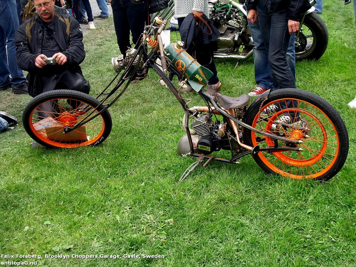 chopper_12Чоппер. Первое место в категории чопперов на кастомбайк-шоу в Норртелье 2013