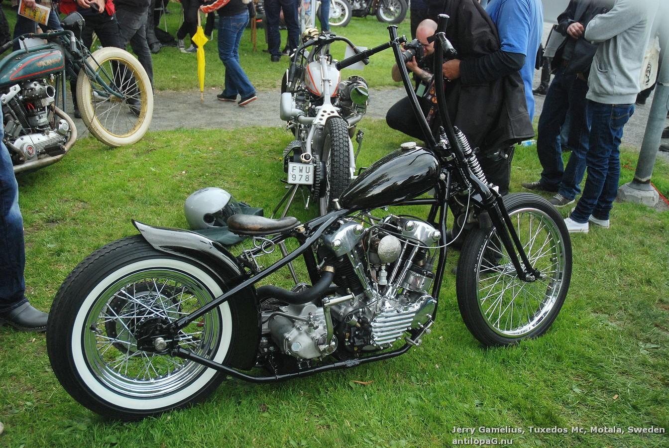 Первое место в категории мотоциклов Классик Кастом на кастомбайк-шоу в Норртелье 2013