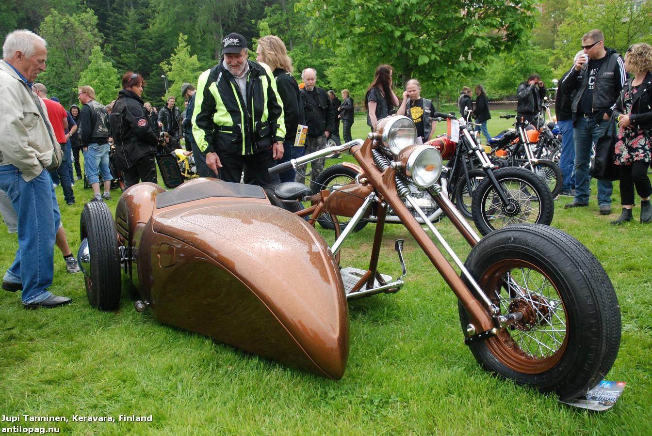 Керавара-Keravara Первое место в категории мотоциклов Кастом на кастомбайк-шоу в Норртелье 2013