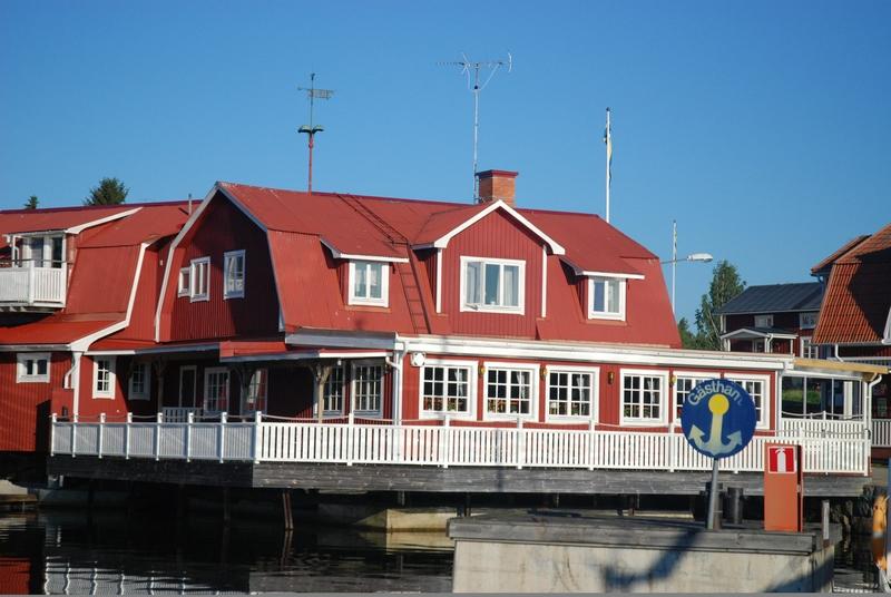 Ресторан рыбных блюд Albertina в Шэрсо (Швеция)